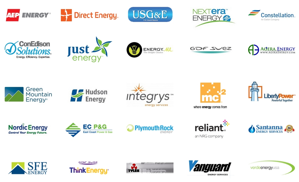 energy suppliers for electricity rates and natural gas rates